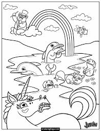 printable 12 unicorn rainbow coloring pages 5976 unicorn rainbow