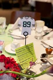themed table numbers used wedding table numbers 4147