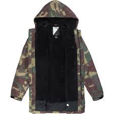 analog stadium parka jacket evo