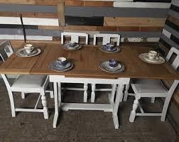 shabby chic dining table etsy uk