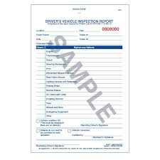 vehicle inspection report template simplified driver s vehicle inspection report vertical format 3