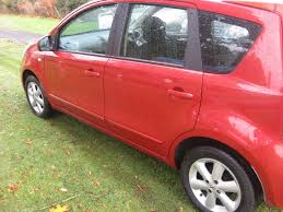 red nissan car used red nissan note for sale borders