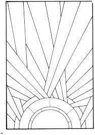stained glass door patterns stained glass pattern from a book of art deco stained glass