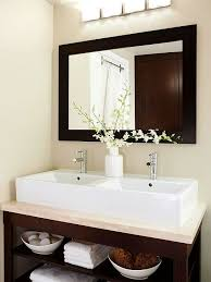 bathroom mirror ideas for a small bathroom best of two sinks in small bathroom bathroom faucet