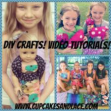 cupcakes and lace videos kids crafting video tutorials u0026