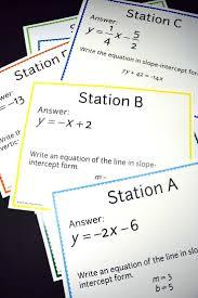 134 best math slope images on pinterest teaching math math