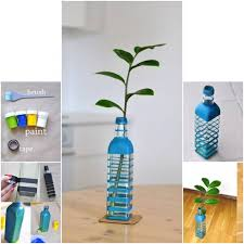 Flower Vase Crafts 15 Amazing Diy Flower Vases To Decorate Your Home Ideachannels