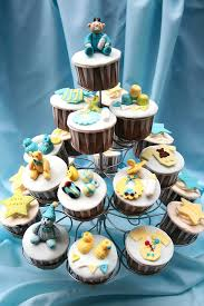 baby boy shower cupcakes baby boy shower cupcakes tree