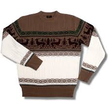 cable knit christmas pop boutique retro cable knit christmas reindeer jumper brown