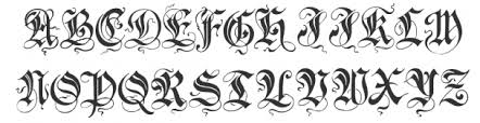 18 free tattoo fonts to download including cursive styles