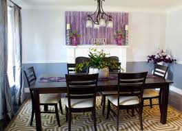 Purple Dining Chairs Ikea The Design House Interior Design A Pleasantly Purple Dining Room