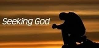 Seeking God To God Is To Seek God Warner Home Ministry