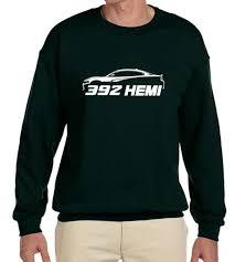 dodge charger clothing dodge charger 392 hemi outline design sweatshirt ebay