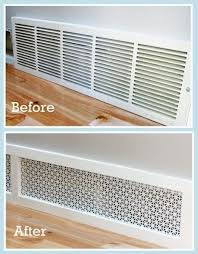 Decor Floor Registers 27 Easy Diy Remodeling Ideas On A Budget Before And After Photos
