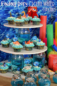the party ideas finding dory water cupcakes 5 jpg