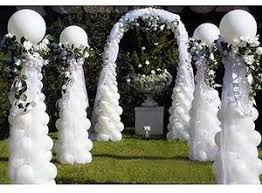 wedding arches and columns balloon column and arch path balloon arch balloon decor