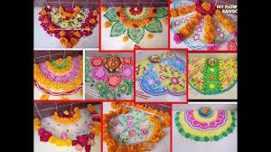 rangoli decoration 10 simple rangoli for diwali diy flower rangoli decoration idea