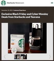 starbucks black friday 2017 sale hours black friday 2017