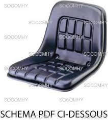 siege pour cabine de siège pour tracteur sans cabine kab p1 sans amortissement