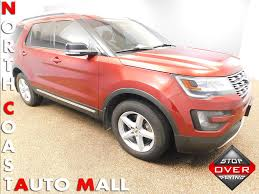 Ford Explorer 2016 - 2016 used ford explorer 4wd 4dr xlt at north coast auto mall