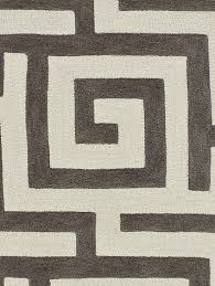 Infinity Area Rugs Infinity Pewter Maze Area Rug 8 X 10 By Dalyn Rug Company