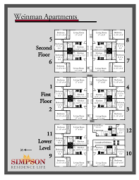 weinman floor plan apartment housing options building units 12