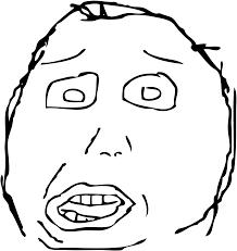 Derp Meme Face - rage face script