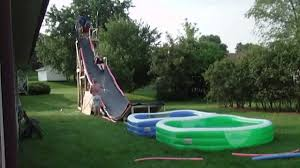 best backyard water slide humbling on interior and exterior ideas