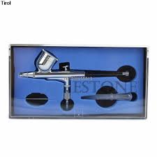 Face Paint Spray - 0 3mm dual action airbrush gun for face painting spray art paint