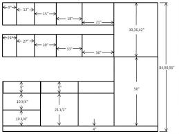 Kitchen Wall Cabinet Depth Kitchen Cabinets Sizes Standard Part 18 Standard Height Width