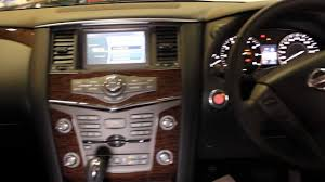 2013 nissan patrol st l touch screen satellite navigation system
