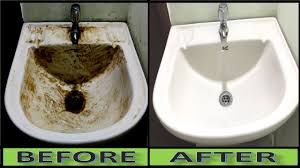 how do you clean a porcelain sink how to turn dirty wash basin sink into pure white at home ceramic
