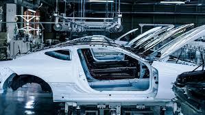 lexus lc in blue inside the lexus lc manufacturing plant in japan auto moto