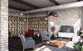 Loft Style Living Room How To Create A Modern Interior In Loft Style
