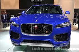 jaguar grill jaguar f pace front grille at iaa 2015 indian autos blog