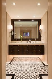 Floating Cabinets Bathroom Ada Compliant Bathroom Bathroom Eclectic With Ceiling Medallion