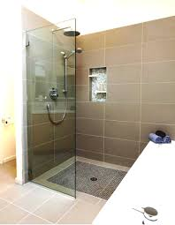 Bathroom Shower Door Ideas Bathroom Shower Ideas With Attractive Design Of Good Tiles Also