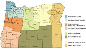 oregon county map directory by basin and county nrcs oregon