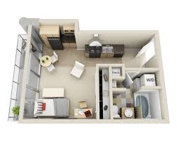 Floor Plan Elements Floor Plans And Pricing For Elements Apartments Bellevue Wa