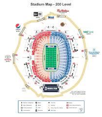 Bank Of America Stadium Map by Ralph Wilson Stadium Map My Blog