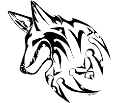 angry tribal wolf design in 2017 photo pictures
