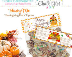 thanksgiving diy bag toppers thanksgiving favors
