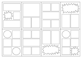 printable blank mini book template 12 best comic layouts images on pinterest book layouts comic book