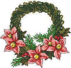 advanced embroidery designs poinsettia wreath