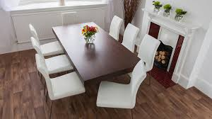 Funky Dining Room Tables Dark Wood Funky Dining Set Glass Legs And Chunky Table Top