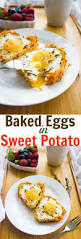 baked eggs in sweet potato crusts recipe crusts cozy and egg