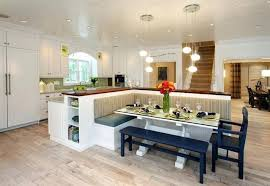 Contemporary Kitchen Islands With Seating Kitchen Island With Bench Seating Inspired Remodel And Furnish