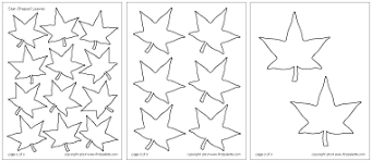 leaves printable templates u0026 coloring pages firstpalette com