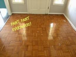 Wood Floor Paint by Cultivate Create Painted Parquet Floor