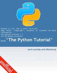 python tutorial ebook python tutorial 2 7 unofficial by yeradis pdf ipad kindle